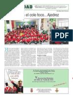 La Verdad CGHoy en El Cole Toca...Ajedrez