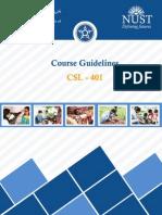 Community Service course