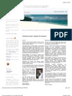 Isla Viveros - Newsletter May 2008 - andre beladina - panama