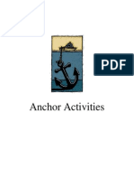 Anchoring Activities NLP for Different Subjects