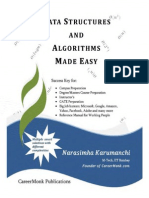 Data Structures and Algorithms Made Easy-Narasimha Karumanchi