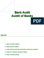 Audit of Banks Bank Audit