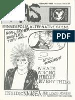 Minneapolis Alternative Scene, Issue 7, February 1989