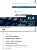 Tata_Motors_Rajendra_Petkar_Keynote_Integrated Powertrain Development and the Role of Simulation