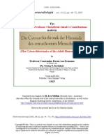 The Comments on Professor Christfried Jakob's Contributions made in 'Die Cytoarchitektonik der Hirnrinde des erwachsenen Menschen'