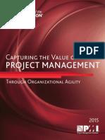 PMI 2015 Capture Value Organizational Agility