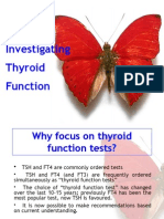 Investigating Thyroid Function