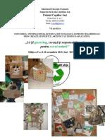 Regulament - Ia Si Green Bag! 2014 Final, Fara Taxa