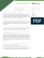 Nueva Busqueda de Precios y Disponibilidad de Tripadvisor