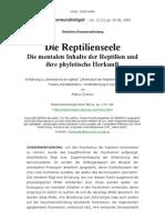 Die Reptilienseele