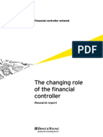 EY Financial Controller Changing Role