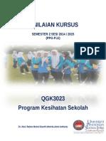 Penilaian Kursus Qgk3023 2015