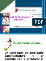 Inafectacion Del Igv
