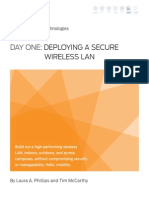 Day One Deploying a Secure Wireless LAN