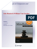 Shonin, E., & Van Gordon, W. (2015). Thupten Jingpa on compassion and mindfulness. Mindfulness. DOI