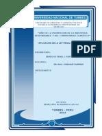Aplicación de La Ley Penal en El Espacio. Monografía Terminada