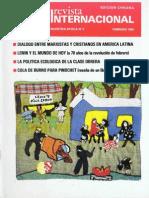 Revista Internacional-Nuestra Época, Edición Chilena Febrero de 1987