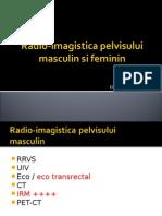 Radio-imagistica pelvisului masculin si feminin