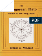 Ernest McClain Pythagorean Plato Prelude to the Song Itself