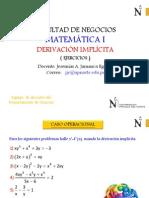 Clase de Derivación Implicita