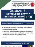 Unidad 3. Metrologia Optica e Instrumentacion Basica