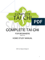 Tai Chi for Beginners Home Study Manual SAMPLE VERSION