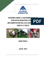 Informe - 004 Vfap - Determinación de Puntos de Muestreo - Eca Suelos - Pisco - 1-7-15