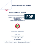 Analytical Study of Laws Relating To Sexual Offences In India.docx