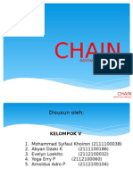 Chain, sprocket