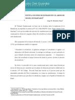 Extradicion Detencion Preventiva Con Fines de Extradicion