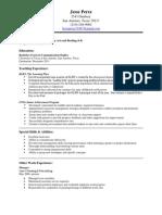 resume201508200802 pdf