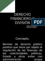Concepto y Division Derecho Financiero