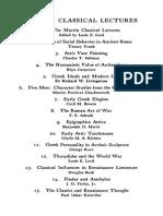 KRISTELLER, Paul Oskar, The Classics and Renaissance Thought