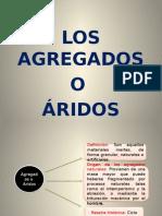 AGREGADOS O ARIDOS