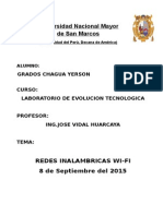 Informe evolucion tecnologica