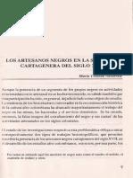 1. Los artesanos negros en la sociedad cartagenera del siglo XVII - Navarrete María.pdf