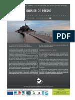 retablissement du caractère maritime du Mont-Saint-Michel - dossier de presse 2015