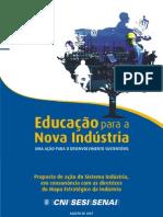PP_Educação para a Nova Indústria, Uma Ação para o Desenvolvimento Sustentável_CNI_57pg