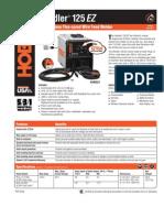 Spec Sheet - Handler 125 EZ