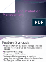 Contract Probation Management
