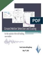 Zareian Ground Motion Selection