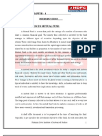 A STUDY ON MUTUAL FUND-(RAJNI) MBA(FIN),RDIAS..................DELHI CANTT-110010