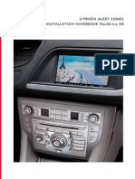 CITROËN Alert Zones - Notice - NaviDrive 3D - UK