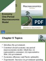 Un Modelo Macroeconómico de un período en una Economía Cerrada