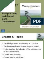 La inflación la curva de Phillips y el compromiso del Banco Central