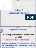 AOPI Unidad 2 Adquisición de Datos