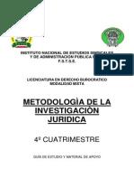 Metodologia Para La Investigacion Juridica