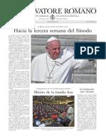 L ´OSSERVATORE ROMANO - 16 Octubre 2015