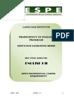 Ingles i -II on Line Study Guide (1)