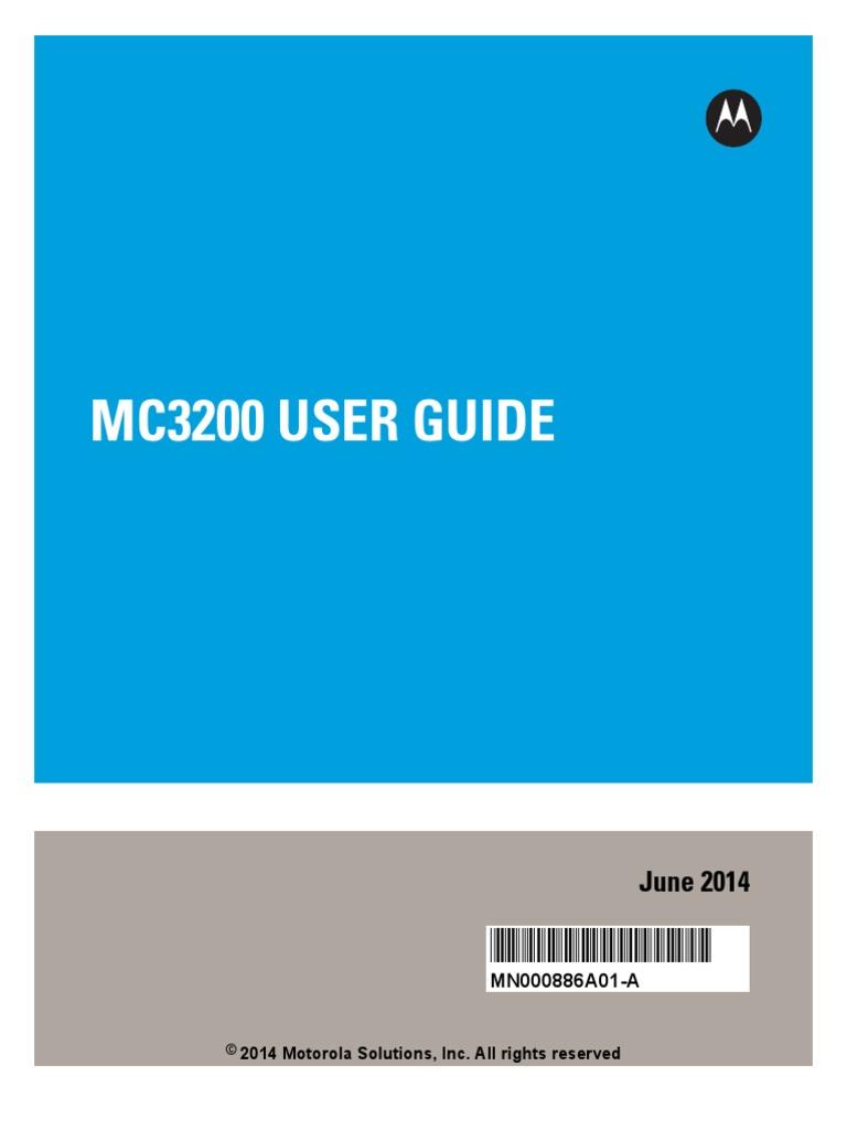 Zebra mc3200 user guide bluetooth copyright buycottarizona Choice Image